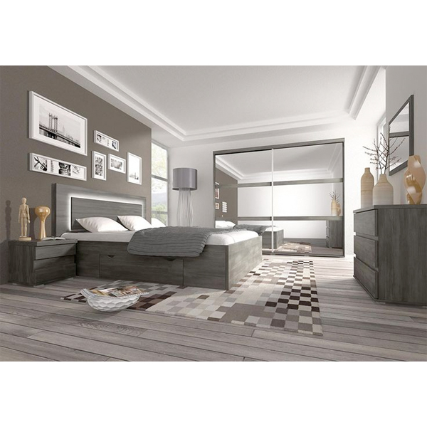 promo chambre coucher compl te cca 018 chez nouveau d cor bruxelles anderlecht. Black Bedroom Furniture Sets. Home Design Ideas