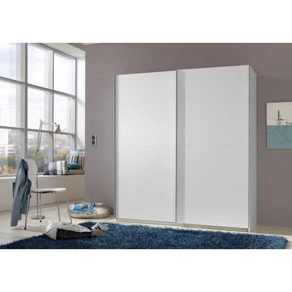 Soldes garde robe 2 portes coulissantes ccgr 015 chez for Garde meuble bruxelles