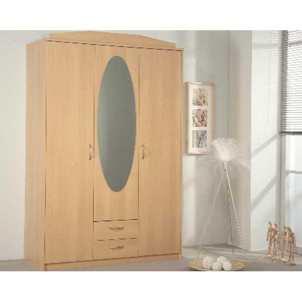 Soldes garde robe 3 portes ccgr 018 chez nouveau d cor for Garde meuble bruxelles