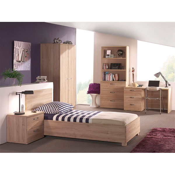 promo chambre coucher compl te jeune ccj 002 chez. Black Bedroom Furniture Sets. Home Design Ideas