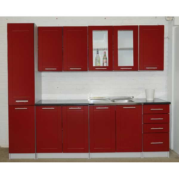 Promo cuisine compl te k240 001 chez nouveau d cor for Meuble complet cuisine