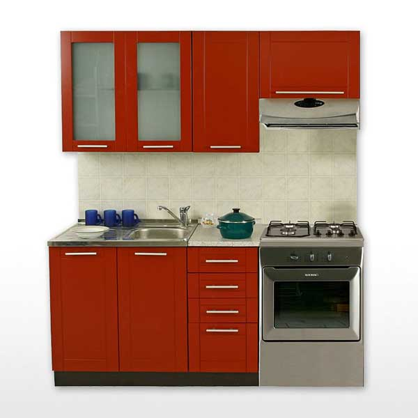 Promo cuisine compl te k180 002 chez nouveau d cor for Meuble complet cuisine