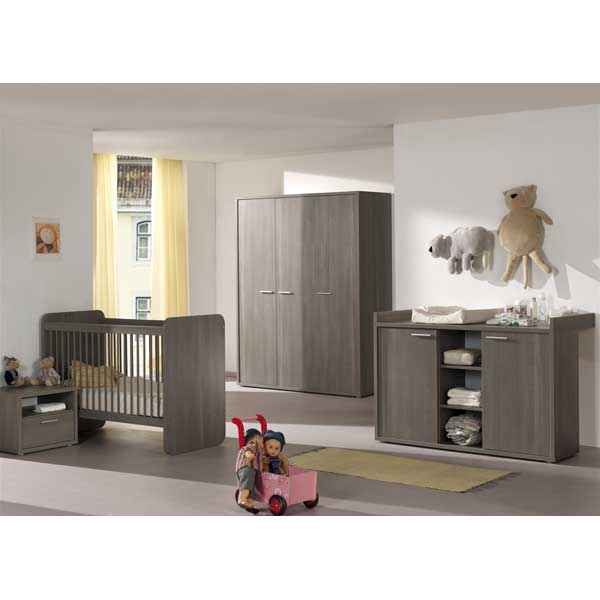 promo chambre coucher compl te pour b b ccb 003. Black Bedroom Furniture Sets. Home Design Ideas