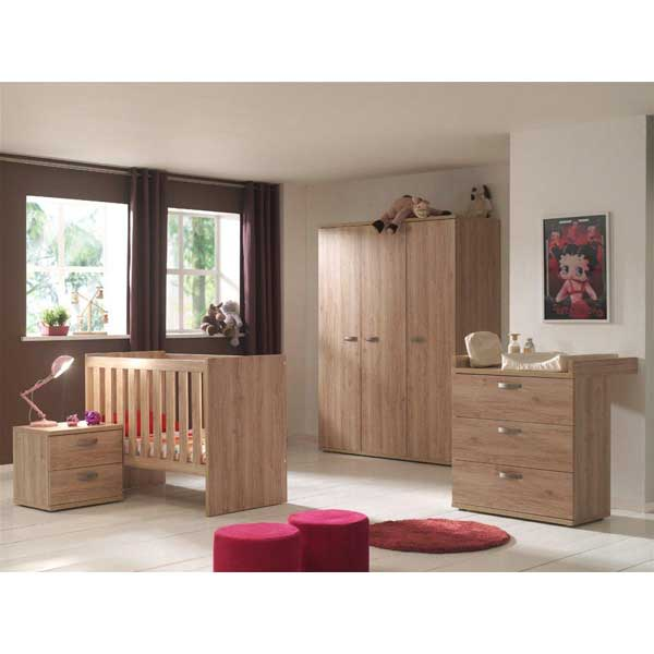 promo chambre coucher compl te pour b b ccb 006. Black Bedroom Furniture Sets. Home Design Ideas