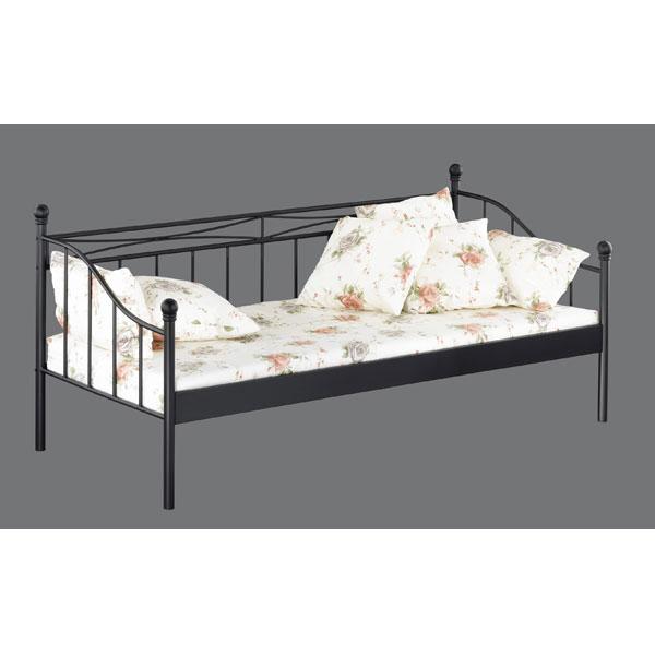 promo lit m tal 1 personne cjl 010 chez nouveau d cor. Black Bedroom Furniture Sets. Home Design Ideas