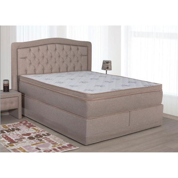 Soldes lit box spring avec coffre ccl 023 chez nouveau for Chambre a coucher adulte en solde