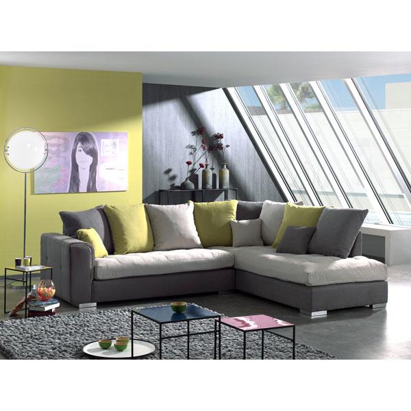 promo salon en coin sc 011 chez nouveau d cor bruxelles anderlecht. Black Bedroom Furniture Sets. Home Design Ideas