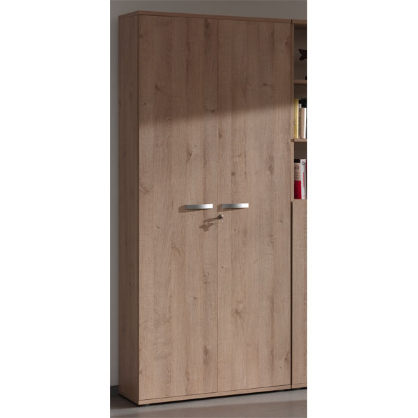 Promo armoire de bureau 2 portes ch ne ne alt2d chez for Decoration porte armoire