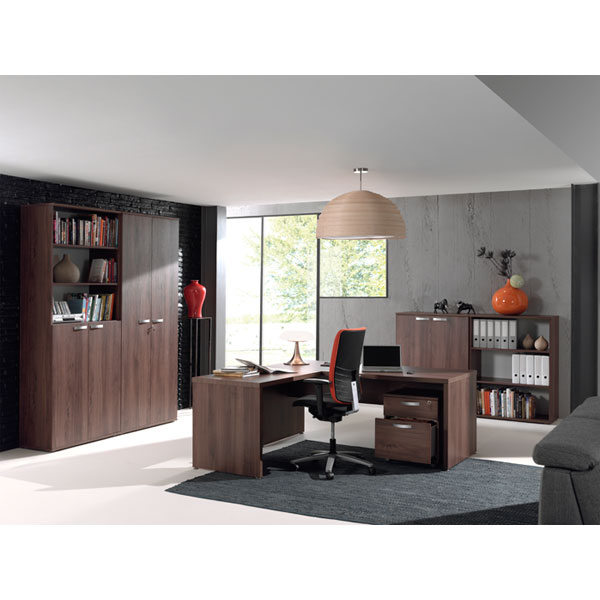 promo ensemble bureau noyer ne alto3 chez nouveau d cor bruxelles anderlecht. Black Bedroom Furniture Sets. Home Design Ideas