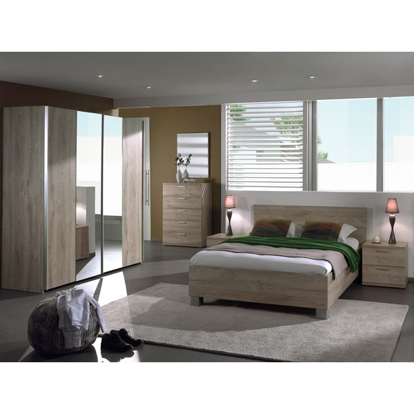 promo chambre coucher compl te ne emm01 chez nouveau. Black Bedroom Furniture Sets. Home Design Ideas