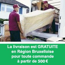Livraison meubles chez Nouveau Décor à Bruxelles (Anderlecht)