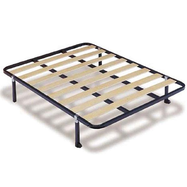 promo sommier m tal 160 x 200 somm 003 chez nouveau. Black Bedroom Furniture Sets. Home Design Ideas