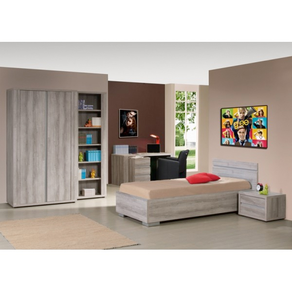 promo chambre coucher compl te jeune ba fifi chez. Black Bedroom Furniture Sets. Home Design Ideas