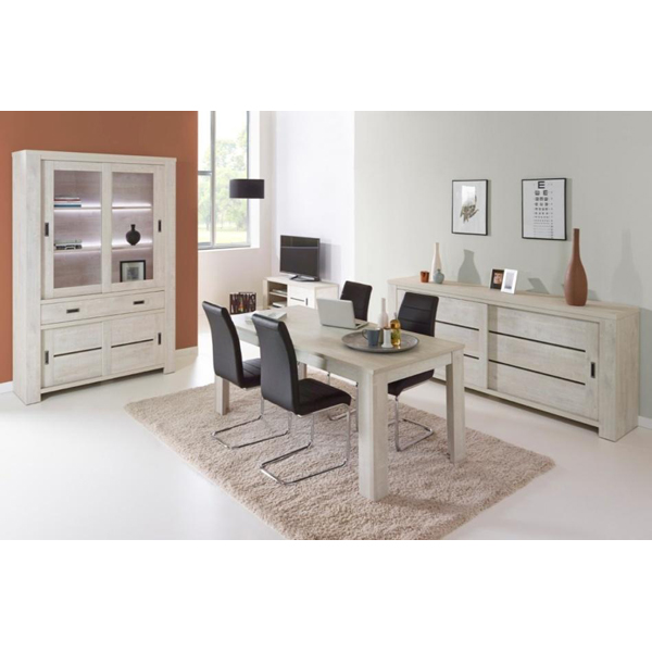 promo salle manger compl te ba jo1 chez nouveau d cor bruxelles anderlecht. Black Bedroom Furniture Sets. Home Design Ideas