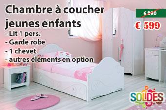 Chambre à coucher complète en solde chez Nouveau Décor Meubles