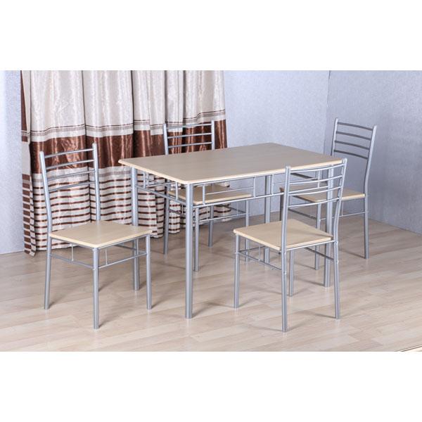Promo table salle manger avec 4 chaises ro ame chez for Salle a manger en promotion
