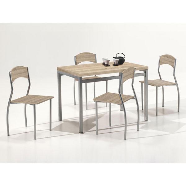Promo table salle manger avec 4 chaises ro pri chez for Salle a manger en promotion