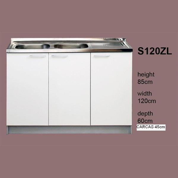 Meuble cuisine 3 portes meuble bas cuisine portes pas - Vide sanitaire meuble cuisine ...