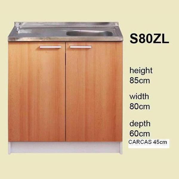 Meuble bas cuisine hauteur 80 cm nouveaux mod les de maison - Meuble hauteur 80 cm ...