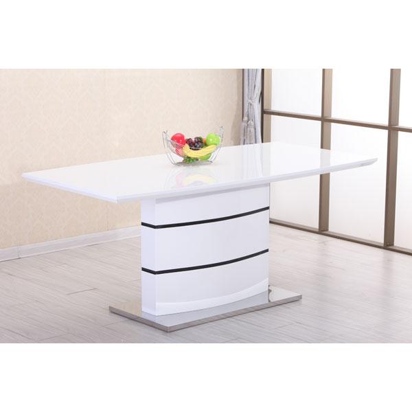 Soldes table de salle manger etb ct488 chez nouveau for Garde meuble bruxelles