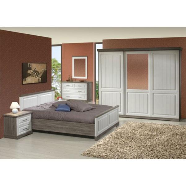 [PROMO] Chambre à coucher complète (BA IVE4) chez Nouveau