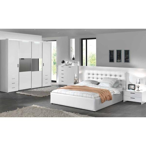 Soldes chambre coucher compl te la reg chez nouveau for Meuble complet chambre