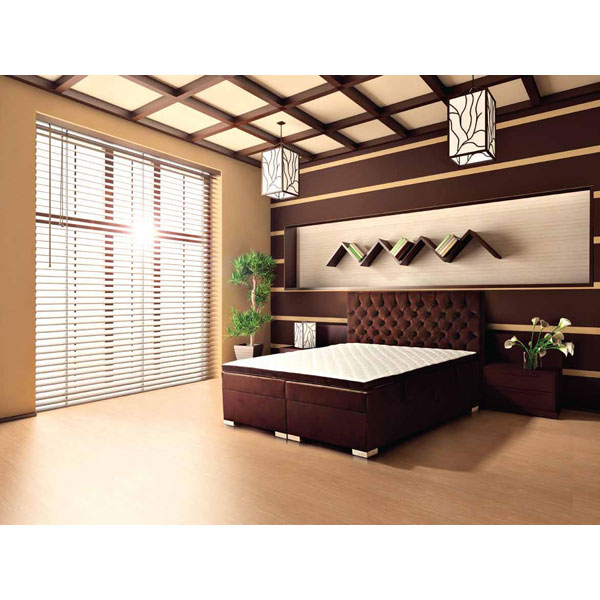 Soldes lit boxspring ka rom chez nouveau d cor for Decoration chez soi chambre coucher