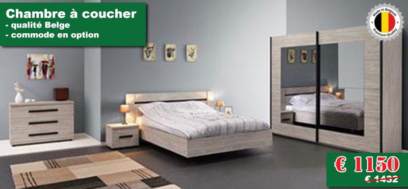 chambre à coucher en promotion