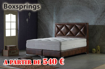 boxspring en promotion
